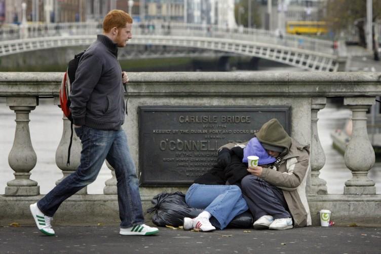 senzatetto in europa