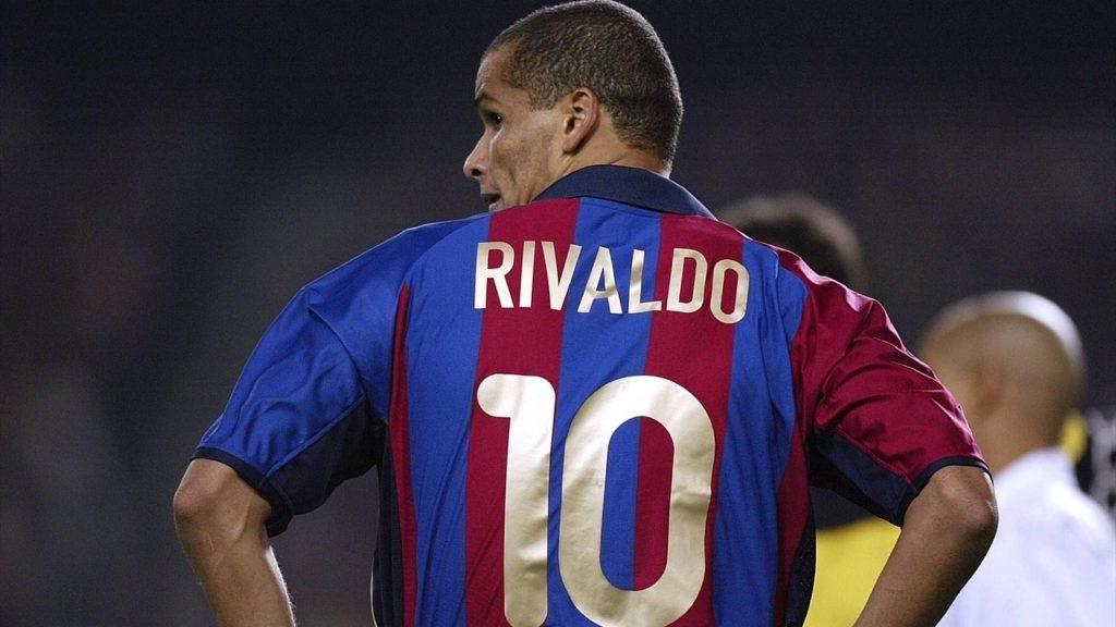 rivaldo, La rovesciata di Rivaldo contro il Valencia