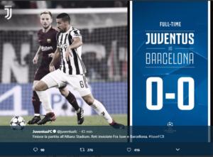 , Top & Flop Juventus-Barcellona 0-0: scapoli contro ammogliati…