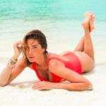 Aida Yespica, Le vacanze di Aida Yespica