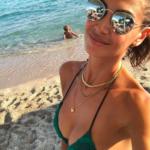 Satta, Gli scatti di Melissa Satta al mare