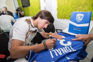 Sandro Tonali, Tonali, dalla serie B alla Nazionale