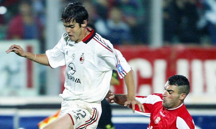 Kakà, Kakà e il primo contrasto contro Gattuso