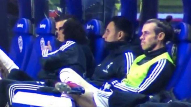 BALE, [VIDEO] Il rifiuto ad entrare in campo di Bale