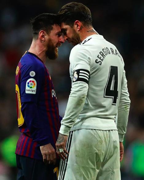 MESSI RAMOS, [VIDEO] Messi senza paura