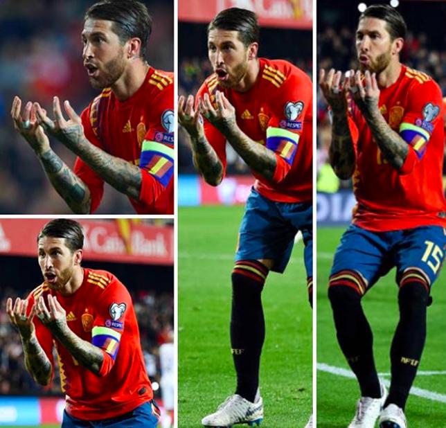 RAMOS, [Video] Ramos:un difensore che fa il cucchiaio