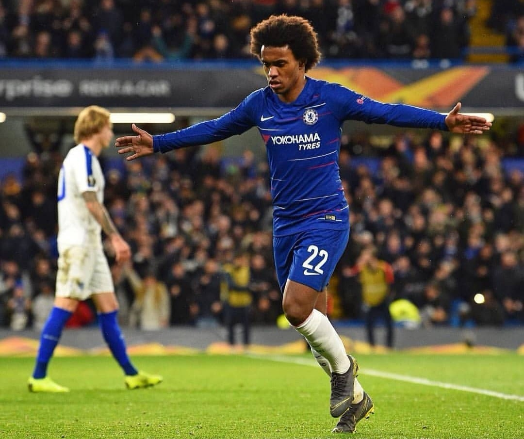 WILLIAN, [video] La pennellata di Willian