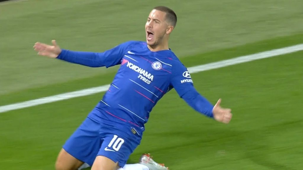 hazard, (VIDEO) Hazard se li fuma tutti e segna un gol pazzesco!
