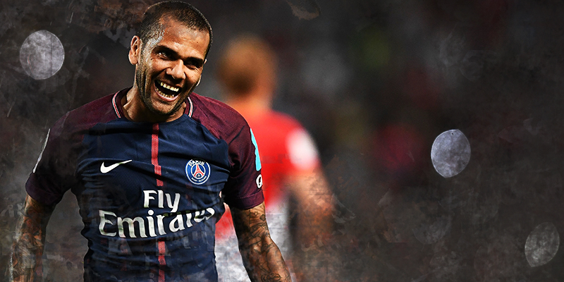 dani alves, (VIDEO) Dani Alves fa un gol incredibile! Un tiro al volo da fuori area