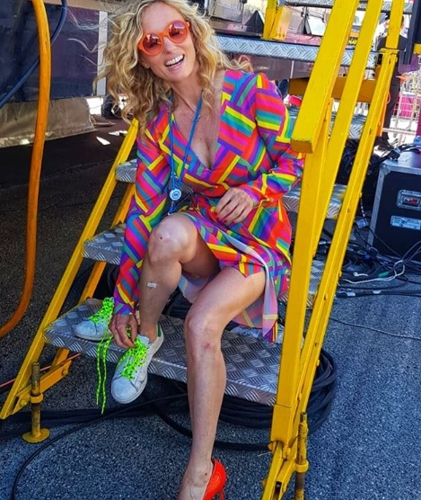 mattera, Justine Mattera: Dal Topless all'incidente in bicicletta!
