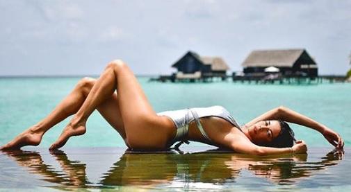aida yespica, Aida Yespica alle Maldive ci regala sempre belle soddisfazioni!