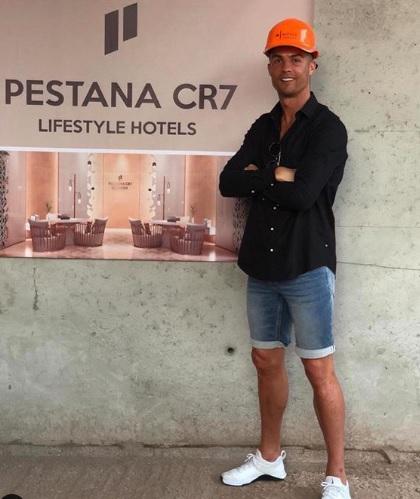 ronaldo, Ultimo colpo di Cristiano Ronaldo! Un calciatore imprenditore!