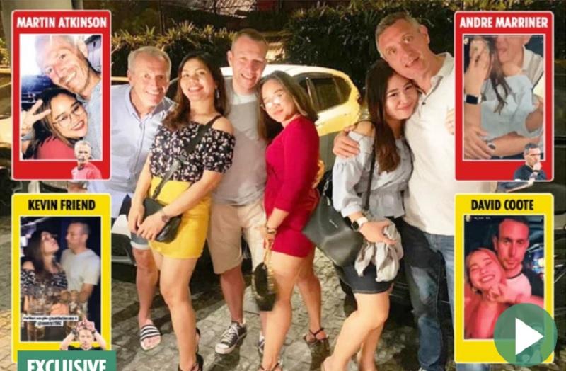 arbitri, 6 arbitri nella bufera! Alcol, Ragazze sull'isola di Batam!
