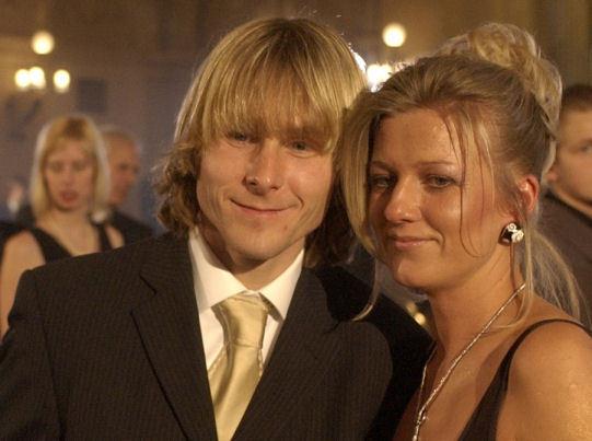 nedved, Nedved avrebbe deciso di lasciare la moglie per una donna molto più giovane