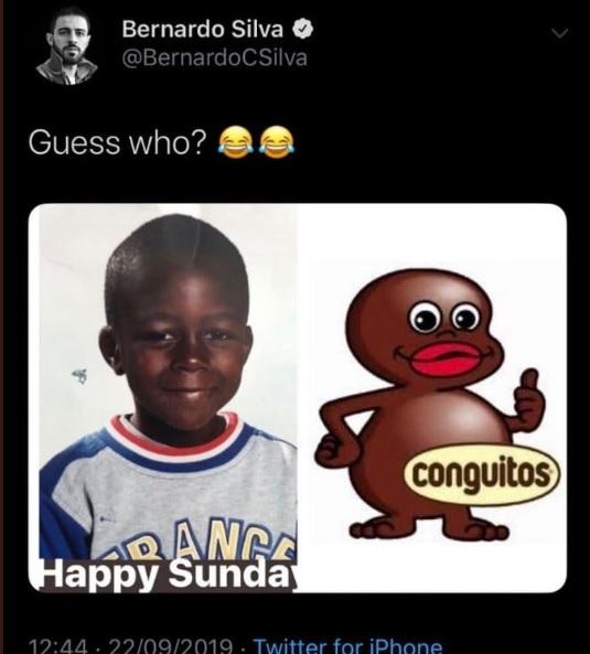 bernardo silva, Bernardo Silva accusato di razzismo nei confronti di Mendy!