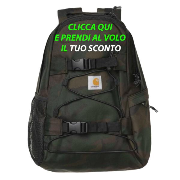 Kickflip Backpack Camo, Kickflip Backpack Camo! Quando Carhartt non sbaglia!