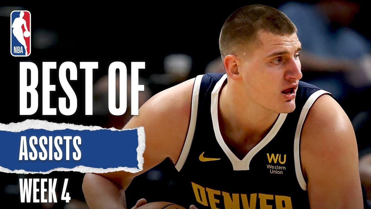 nba, Le migliori giocate della 4° settimana NBA