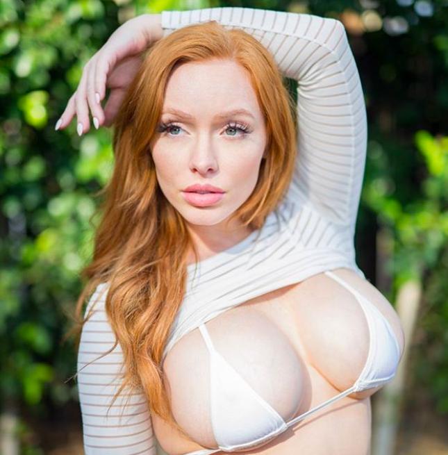 AUSTINE WHITE, Austine la modella dai capelli rossi ed il fisico pazzesco