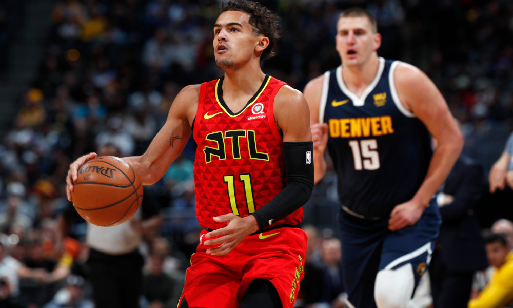 trae young, Trae Young che nottata NBA