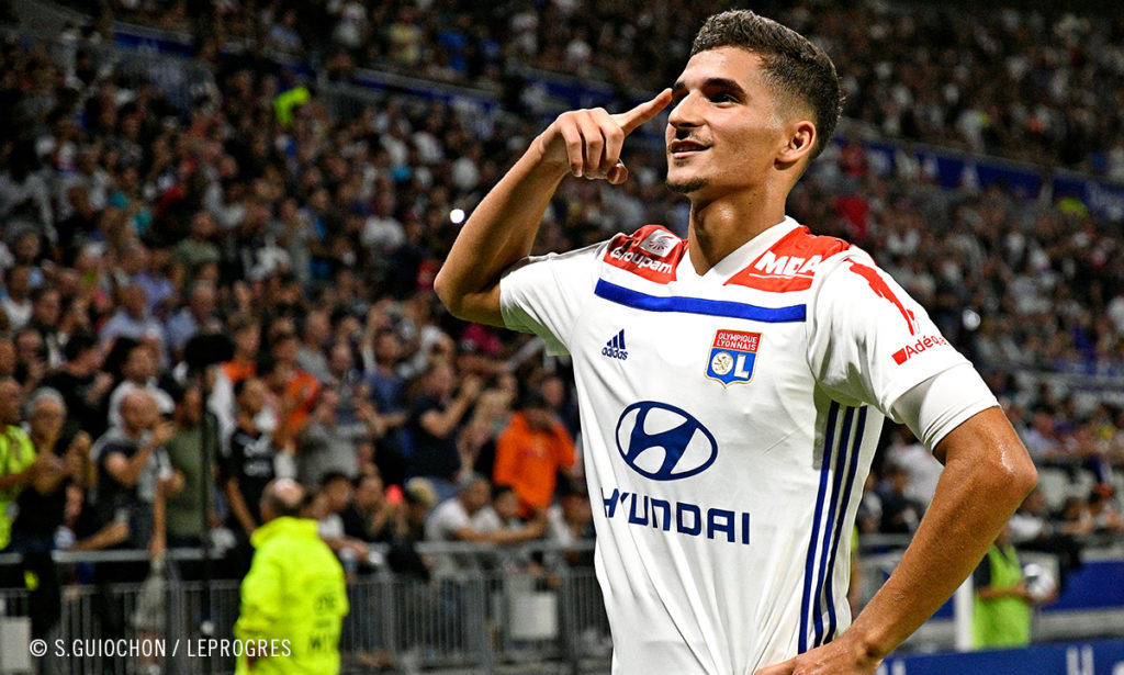 aouar, Il gol più bello del martedì targato Champions League è di Houssem Aouar