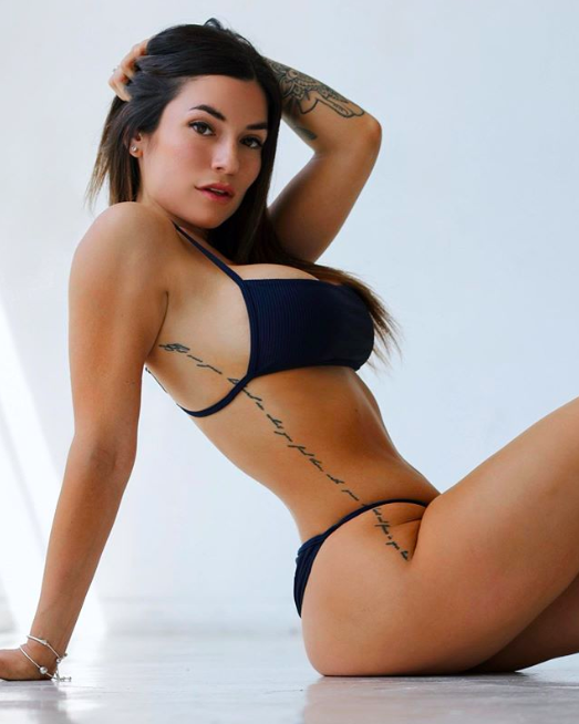 LUCIANA DEL MAR, Luciana Del Mar la fitness model pericolosa