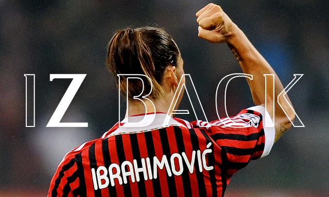 """ibrahimovic, """"Torno nella città che amo"""""""
