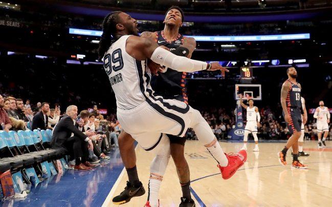 knicks, Knicks e Grizzlies passano alle mani. Mega rissa al Madison Square Garden.