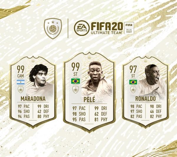 , FIFA 20: Icon Prime Moments e Winter Refresh.