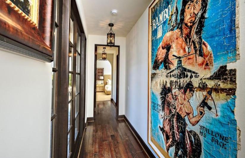 villa di stallone, La villa di Stallone è in vendita!