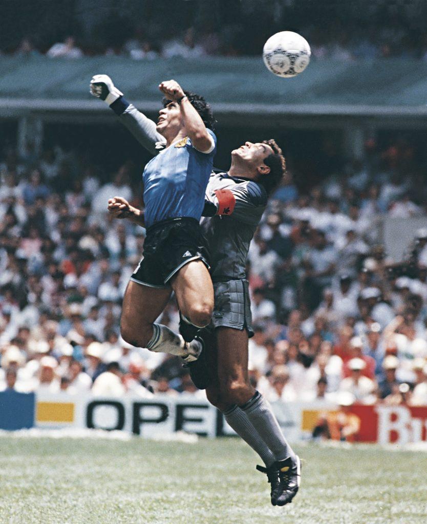 diego armando maradona, Diego Armando Maradona il palleggio che ha fatto la storia del calcio