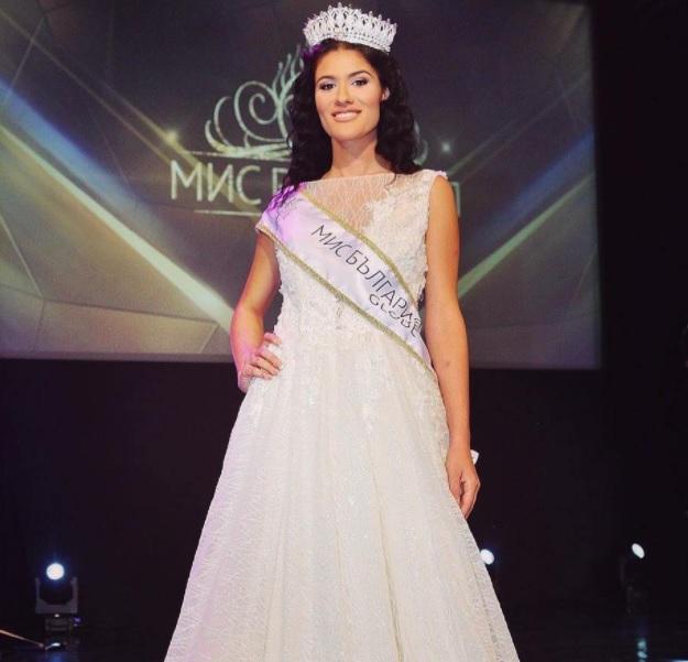 miss bulgaria, L'arbitro diventa Miss Bulgaria.
