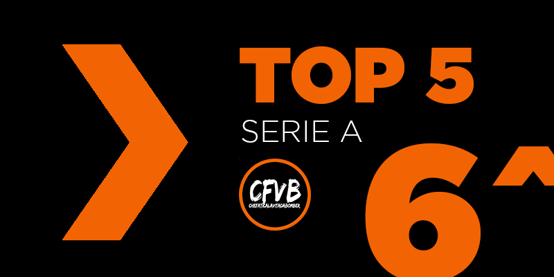 , TOP 5 Serie A – 6° Giornata