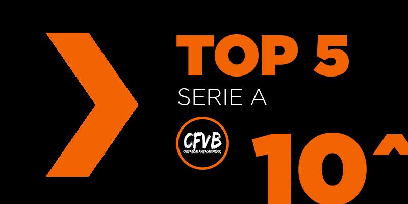 , TOP 5 Serie A – 10° Giornata