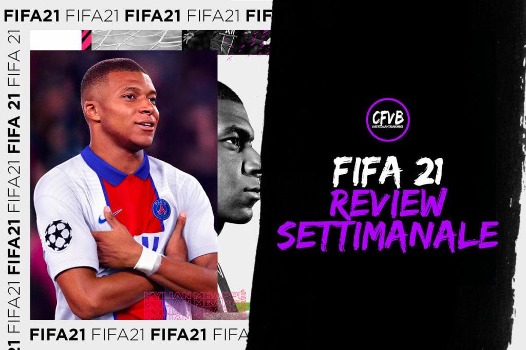 , Fifa 21, la review della settimana del 28 marzo