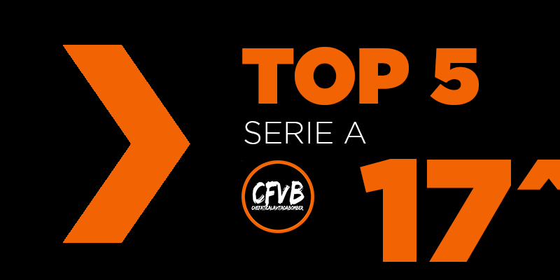 , TOP 5 Serie A – 17° Giornata