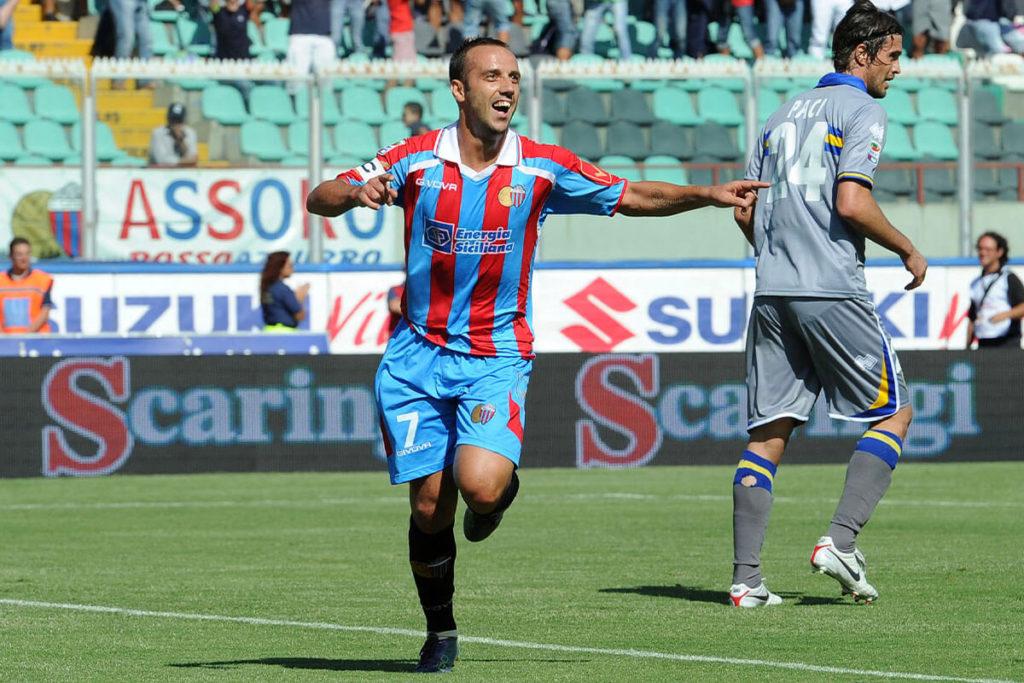 MASCARA, Il gol da centrocampo di Giuseppe Mascara al Palermo