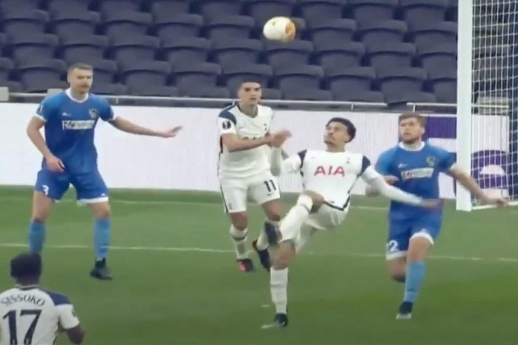 , La magia di Alli sorprende Mourinho (VIDEO)