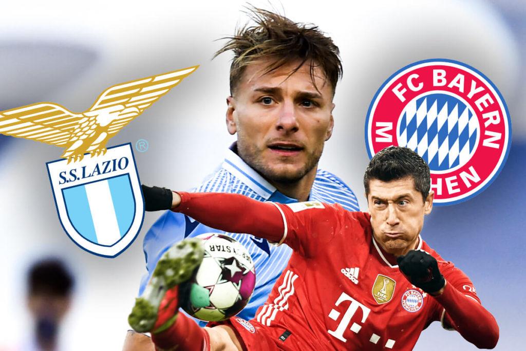 , Lazio-Bayern, scherzi e magie: che sfida sui social! Ma chi la vince?