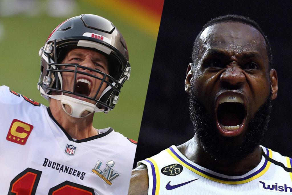 Tom Brady, Tom Brady ubriaco dopo il Super Bowl e la reazione di LeBron James