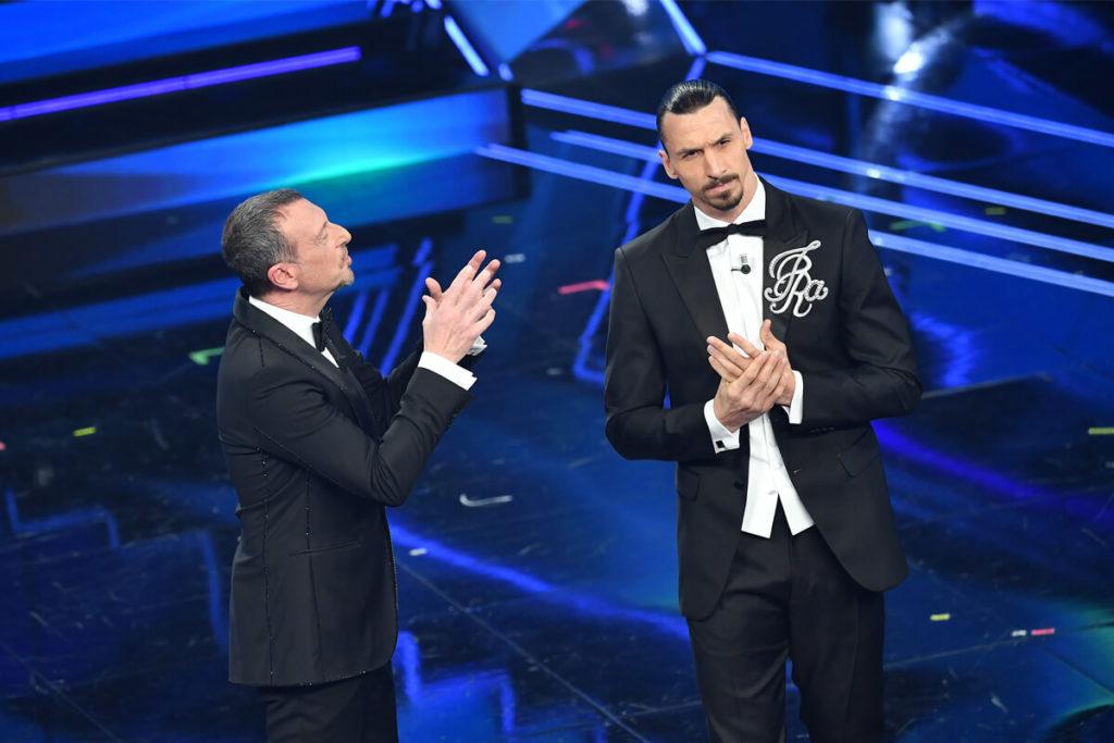 , Sanremo, Ibra tra palco e superyacht va subito in goal: «Nel mio Festival 22 cantanti. Gli altri? Vendiamoli!»