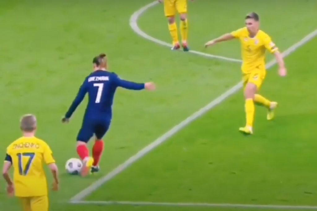 , Griezmann raggiunge Trezegol: che magia contro l'Ucraina!