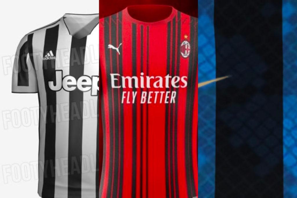 , Juve, Milan, Inter e Roma: ecco le maglie della prossima stagione!