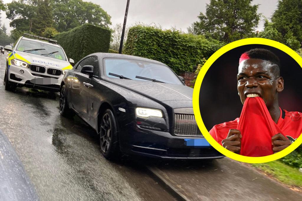 , Pogba si dimentica della sua Rolls Royce e la recupera dopo 9 mesi