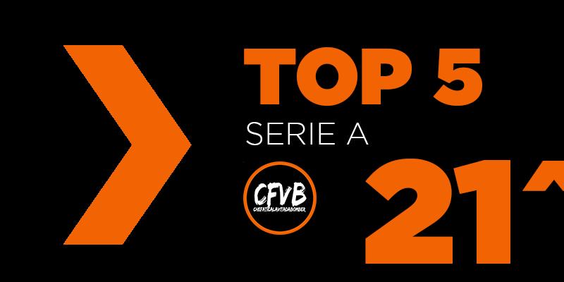 , TOP 5 Serie A – 21° Giornata