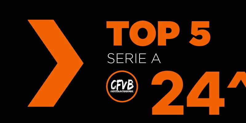, TOP 5 Serie A – 24° Giornata