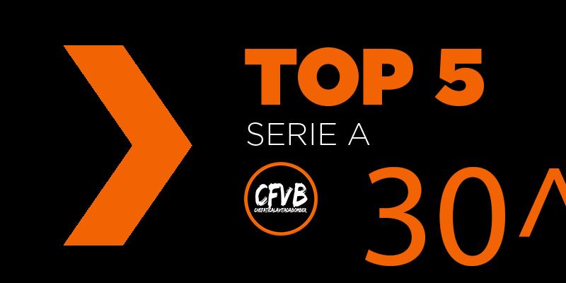 , TOP 5 Serie A – 30° Giornata