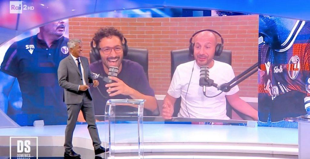 ema e fabio, Ema e Fabio e le risate a La Domenica Sportiva