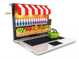 food grocery crescita online