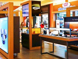 Amazon chiude pop-up store