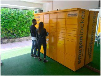 amazon locker papete
